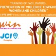 """TRAINING OF FACILITATORS : """"Prevention of violence towards women and children"""" You are a man or a woman over 18 who feels concerned with the numerous acts of violence against […]"""
